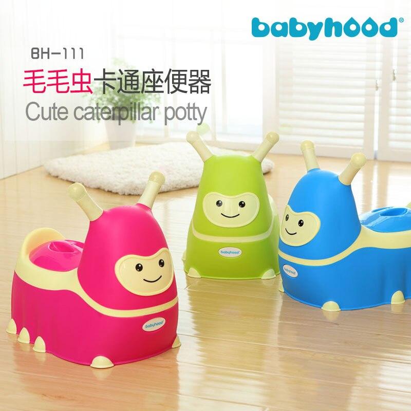 Babyhood Caterpillar Pedestal Pan
