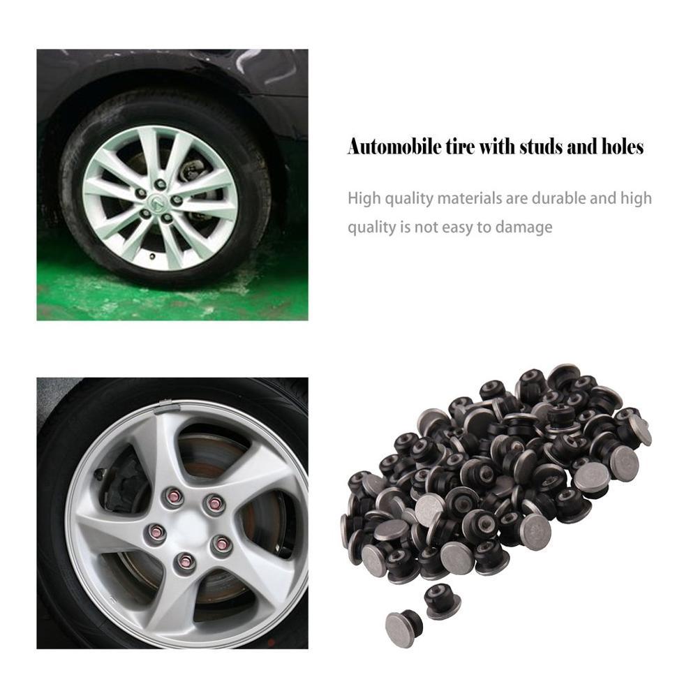 100pcs 9x12mm Winter Wheel Lugs Car Tires Studs Screw Snow Spikes Wheel Tyre Snow Chains Studs ATV Car Motorcycle Tire