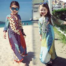 Dress India Ethnic-Styles Woman Girl New Costume Mom Pringting Daily Beautiful Comfortable