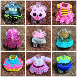 L.O.L. SURPRISE! 1 Piece Original Dress Clothes Suits for LOL 8cm Big Sister Dolls Dresses Kids Toy Birthday Gift New Arrival(China)