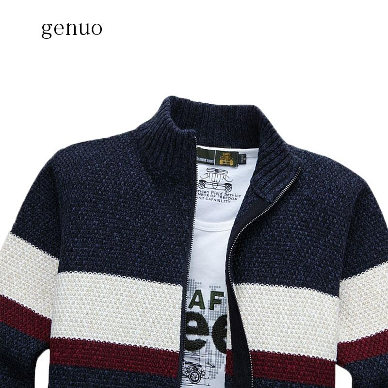 Genuo New 2020 Explosion Models Promotional Latest Autumn And Winter Fashion Casual Cardigan Sweater Men's