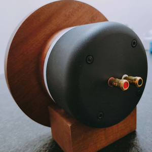 Image 3 - Çift 2 adet MeloDavid ses titanyum Ti dome hunili yüksek frekanslı hoparlör 98db + ahşap destek
