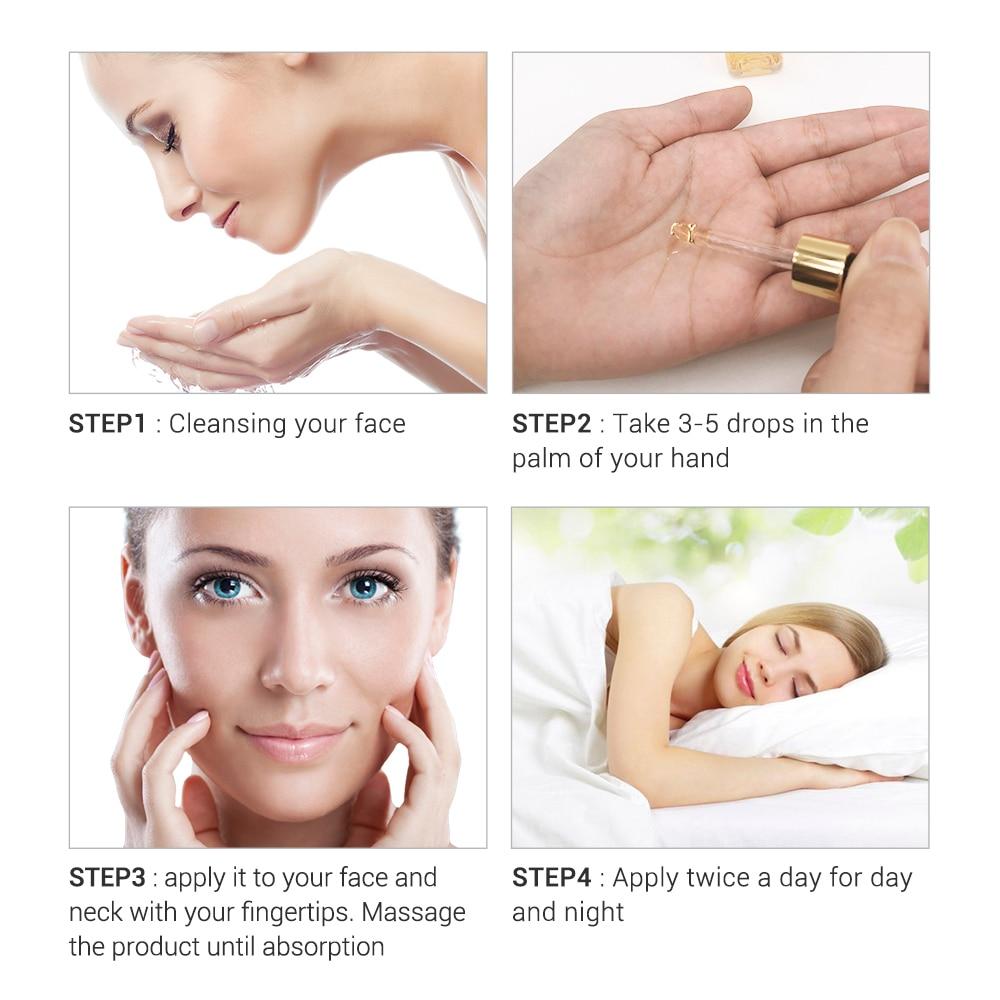BREYLEE Face Serum Vitamin C Whitening Facial Serum Remove Melanin Dark Spots Freckle Removal Brightening Ageless Skin Care 17ml