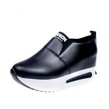 Women Platform Shoes 2018 Hidden Heel Women