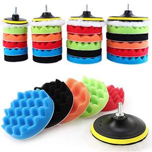 Sponge-Pad-Set Waxing-Polishing-Tool Polished 3inch Waxed Car-Beauty 8piece