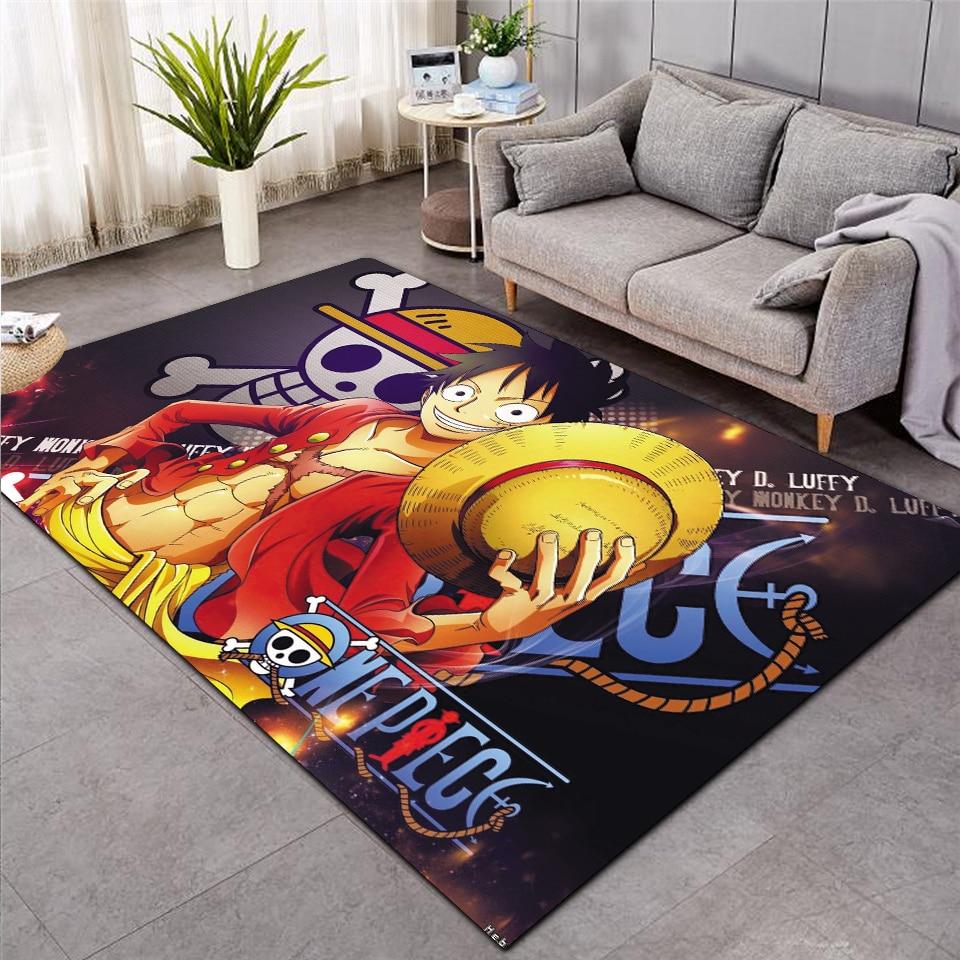 One Piece Shaggy Fluffy Anti-Skid Area Floor Mat 3D Rug Non-slip Mat Dining Room Living Room Soft Child Bedroom Mat Carpet 02