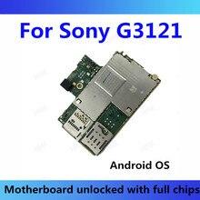Per Sony Xperia XA1 G3121 Scheda Madre SISTEMA OPERATIVO Android Updat Con Chip 4G Supporto Sostituendo Per G3121 Mobile della Scheda Madre