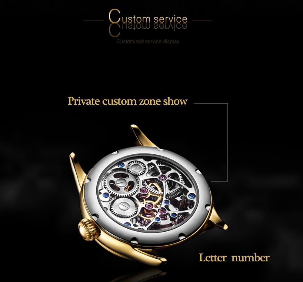 GUANQIN 2019 Tourbillon Men watches top brand luxury 100% real Tourbillon clock men Sapphire mechanical watch Relogio Masculino 11