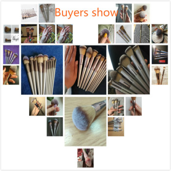 4-14pcs Makeup Brushes Set For Foundation Powder Blush Eyeshadow Concealer Lip Eye Make Up Brush With Bag Cosmetics Beauty Tools 6