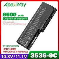 6600mAh batería del ordenador portátil Equium L350 10L P200D 139 L350D 11D P200 P300 PA3536U 1BRS PA3537U 1BAS PA3537U 1BRS PABAS100 PABAS101 equium a110 equium a200 equium a100 -