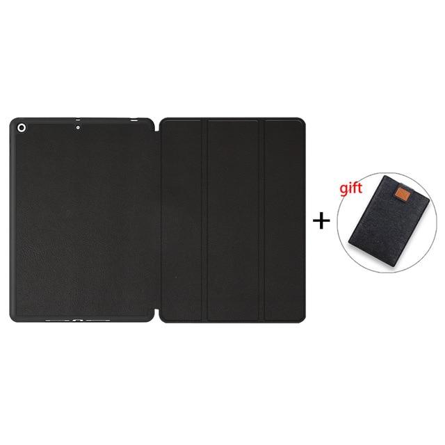 Black-TPU Champagne MTT Soft TPU Back Case For iPad 10 2 inch 7th 8th Gen Marble PU Leather