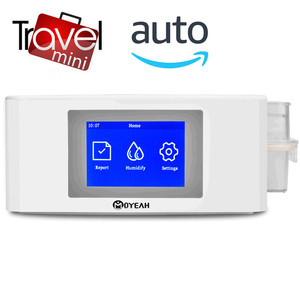 Image 1 - MOYEAH Travel Mini APAP Machine Portable Auto CPAP Medical Equipment With Heated Humidifier Mask Hose For Anti Snore Sleep Apnea