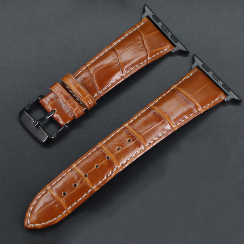 Band For Apple Watch 4/3/2/1 Leather Strap For 42mm 38mm Bracelet Strap For Iwatch Series 40mm 44mm