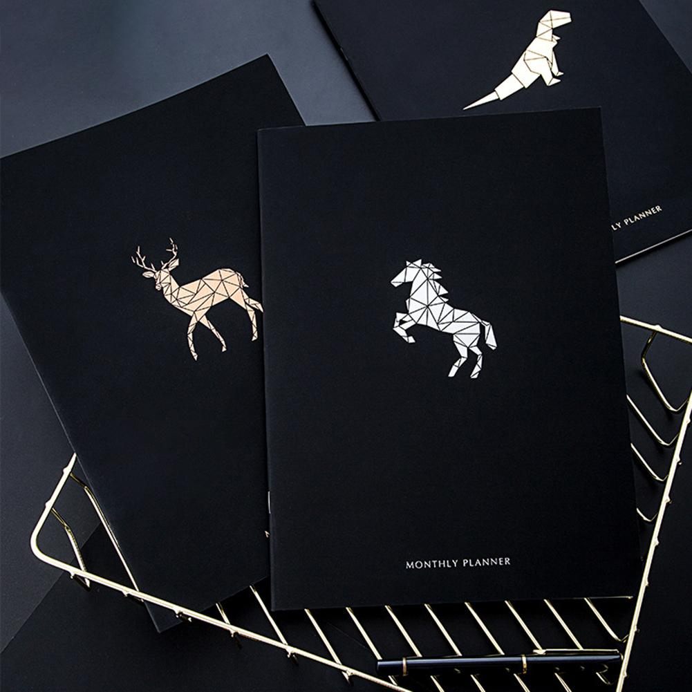 2020 Year Horse Agenda A4 Diary Weekly Monthly Schedule Journal Notebook Planner