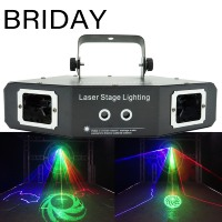 RGB Laser image Lines Beam Scans DMX DJ Dance Bar Coffee Xmas Home Party Disco Effect Lighting Light System Show