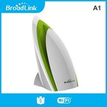 Rm pro, temp, 습도, 조명, voc, 음성 센서가있는 broadlink a1 환경 센서 ifttt