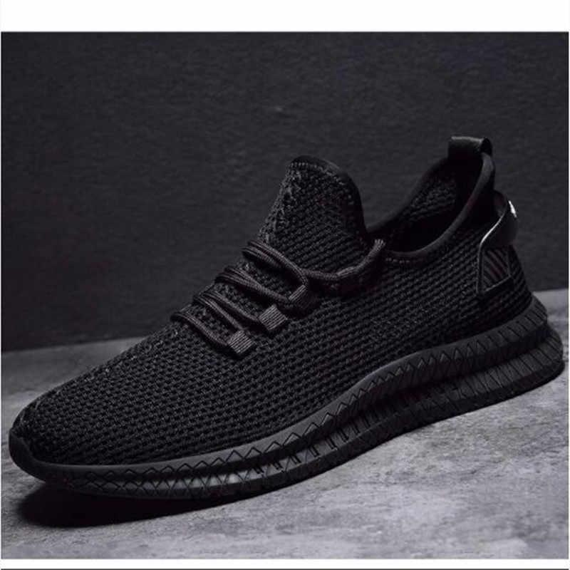 Giày Nam Sneaker 2019 MÙA HÈ THU Cực Tăng Cường Giỏ Giày Thường Thoáng Khí Sapato Masculino Krasovki Zapatos De Hombre