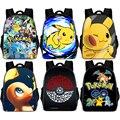 Рюкзак из парусины Pokemon Haunter Evee Bulbasaur, рюкзак для студентов с изображением Пикачу, сумка на плечи, карманный рюкзак с монстрами, школьные сумк...