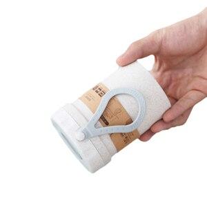Защита окружающей среды бамбуковое волокно Новинка 300 мл портативный вакуумный кувшин-термос кофе суп горшок бутылка для воды подарок