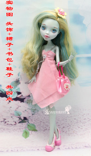 Monstering High Doll Clothes Handmade Outfit Soft Personality Doll Dress Jacket Skirt Doll Clothing Set Quality Doll Clothes 13
