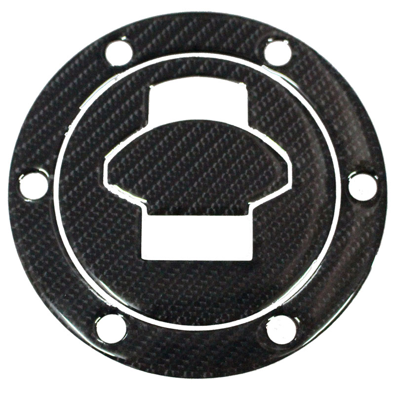 K-SHARP K-CGTCP-12 3D Carbon Fiber Tank Gas Cap Pad Filler Cover Sticker Decals Fit BMW R1200ST K1200S F650 R1150 R/RS/GT/LT ALL