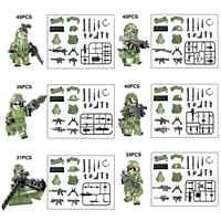 Bausteine Militär Polizei Teams Set Special forces Waffe Modell kits Ziegel Figuren Sammlung Spielzeug Für Kinder TBS75-80