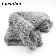 Lucullan portátil mini trapos super macio & absorvência microfibra toalha sobre 23x27cm quadrado carro detalhando roupas