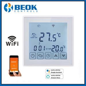 Image 4 - WiFi termostat akıllı sıcaklık kontrol elektrikli sıcak zemin termoregülatör Alexa ile çalışmak Google ev 200 240V