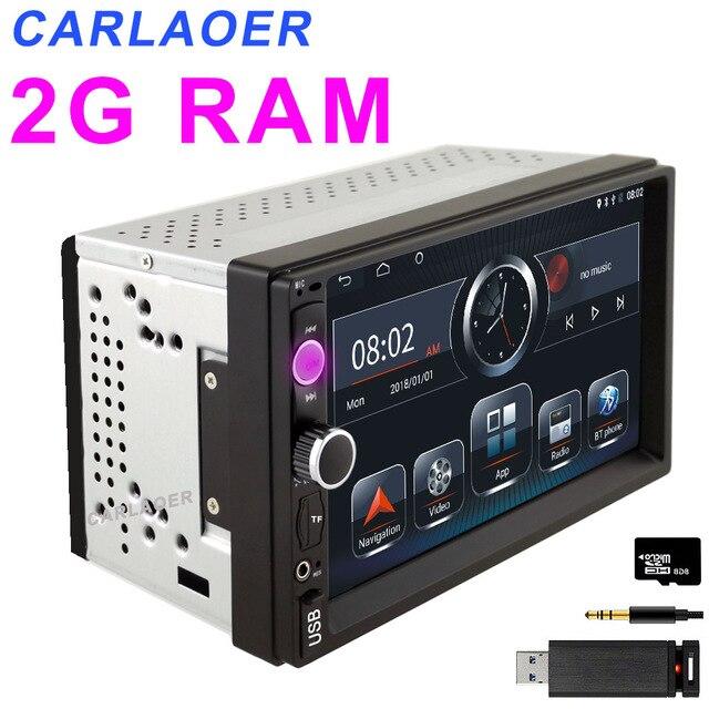 2G RAM 2 din Car Radio 2Din Android Autoradio Multimedia Player Auto audio for Nissan Hyundai Kia toyata lada Chevrolet Ford BYD