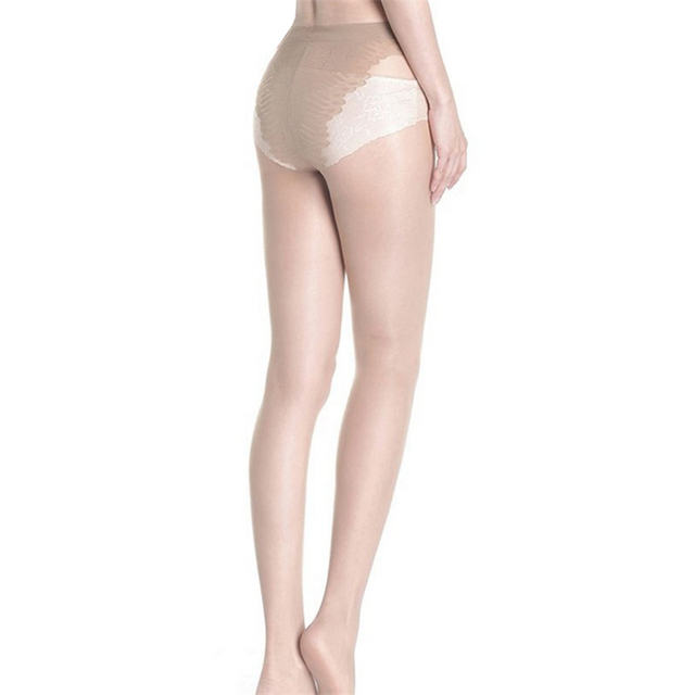 VISNXGI 15 D Thin See Through Oil Shiny High Waist Tights Women Stretch Crotch Detail Pantyhose Cute Solid Stockings Hosiery 1