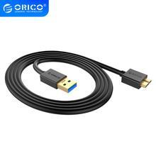 オリコmicro bタイプaケーブルUSB3.0 高速transmiss同期ケーブルコードssd/hddexternalハードドライブディスク外部サムスンS5