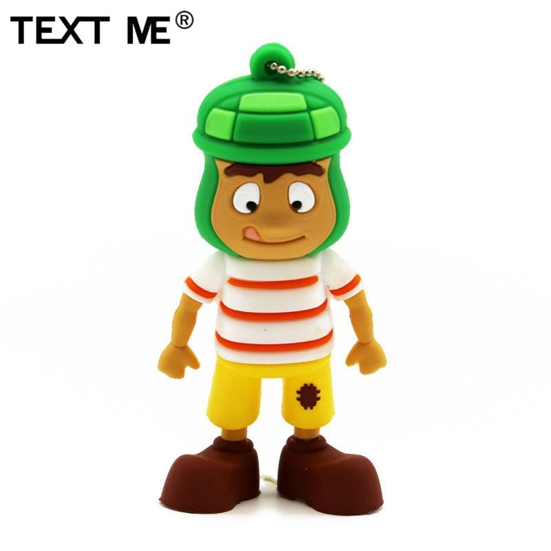 TEXT ME  COOL Cartoon Toy Story Model Usb2.0 4GB 8GB 16GB 32GB 64GB Pen Drive USB Flash Drive Creative Usb Stick Pendrive