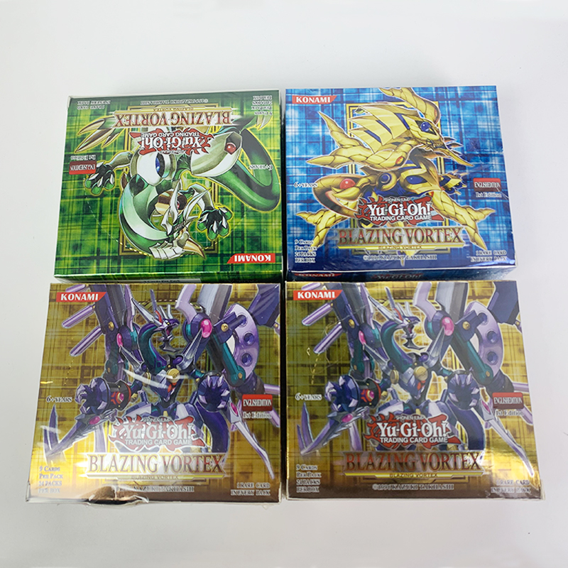 216PCS / Set Yugioh Rare Flash Cards Yu Gi Oh Game Paper Cards Kids Toys Girl Boy CollectionChristmas stationery Gift 1
