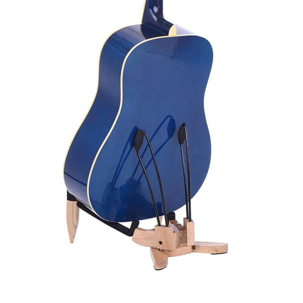 Muslady Metal Guitarra Soporte de Suelo Instrumento Musical Soporte de Tr/ípode para Bajo Ac/ústico de Guitarra El/éctrica
