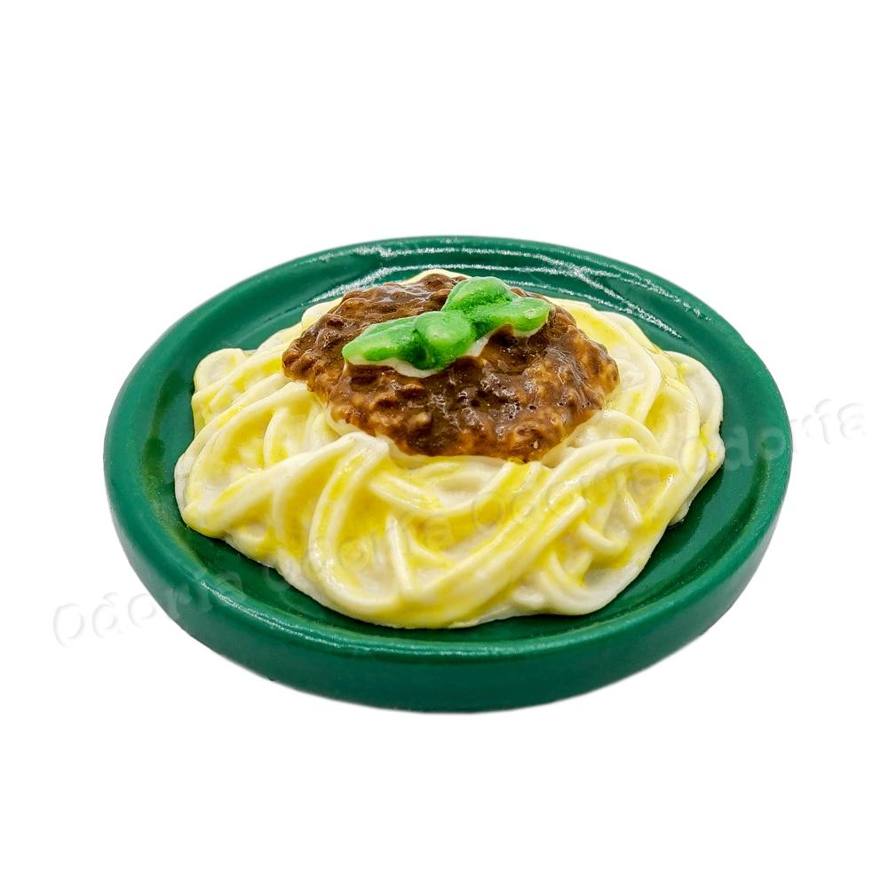 Odoria 1//12 Miniatur Spaghetti Bolognese Puppenhaus K/üche Zubeh/ör
