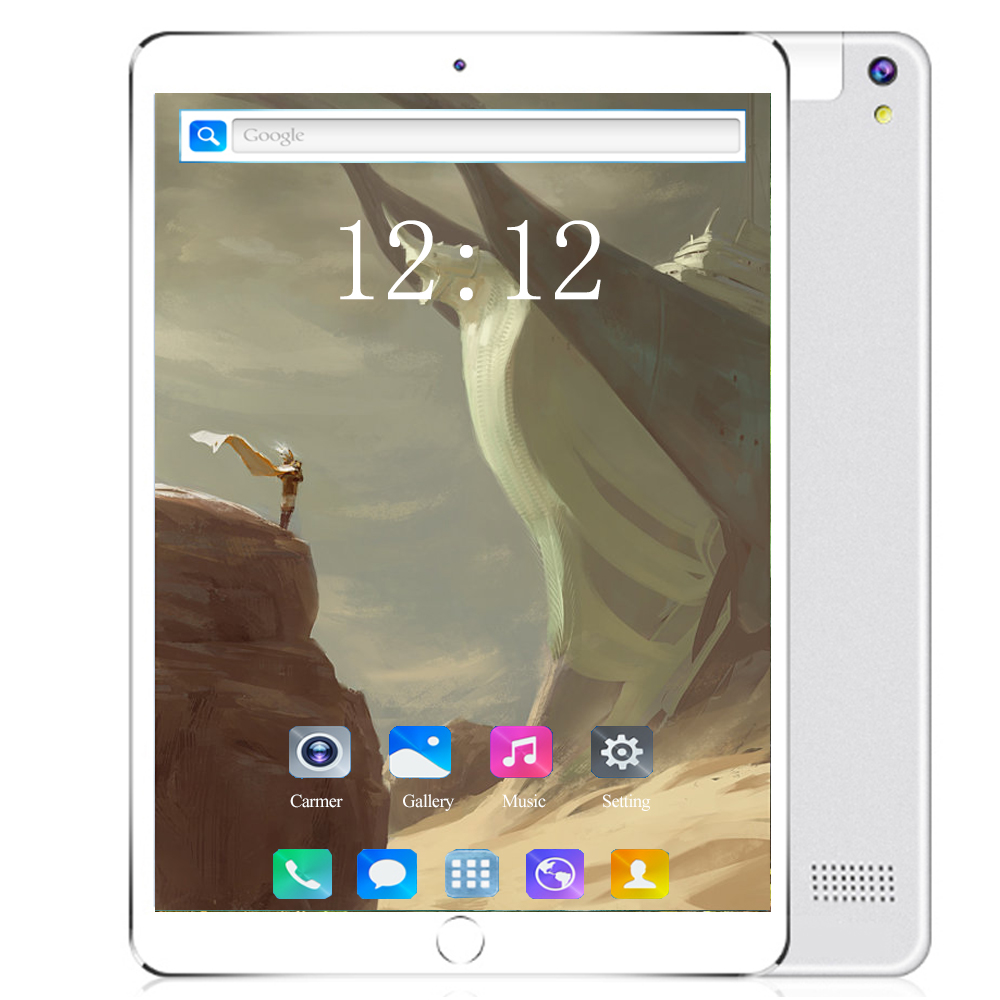 Pocket PC 10 Inch 4G LTE Tablet PC MTK8752 Octa Core 6GB RAM 128GB ROM Dual SIM 5.0MP GPS Android 8.0 1280*800 IPS Tablet PC