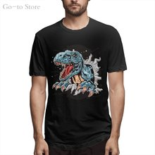 5 D Tyrannosaurus Rex Cool And Funny Short Sleeved Casual Fashion Cotton T-shirt
