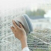 Esponja cepillo de limpieza hogar bosque nube de vidrio para limpiar cristales de alta altura casa ventana artefacto doble ventana limpiador 858g 120x135x100cm|Limpiacristales magnético|Hogar y jardín -
