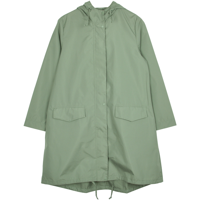 Green Long Raincoat Women Girl Rain Jacket Poncho Ultra Thin Women's Adult Rain Suit Waterproof Suit Gabardina Mujer Gift Ideas 3