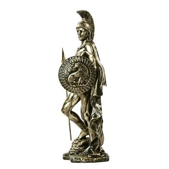 Ancient Greek Spartan Warrior Sculpture Handmade Resin Fighter 3
