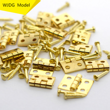 Mini folding mini ultra small architectural model hinge diy woodworking production of fittings building kit model train ho scale