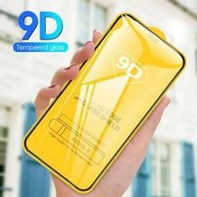 9D Curved Tempered Glass For iPhone 6 6s 7 8 Plus X XR Glass Screen Protector Protective Film For iPhone 11 Pro XS MAX SE 2020 9d for iphone x xr xs max 7 6 s 6s plus 7plus tempered glass for glass iphone 7 8 x 6 xs max protective glass screen protector