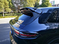For new Porsche Cayenne spoiler rear wing spoiler Carbon fiber material Rear 3M double sided adhesive 2018 UP