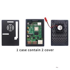 Image 3 - Raspberry pi 4 modelo b 2gb/4gb kit placa + adaptador de alimentação caixa + 32/64gb cartão sd cabo hdmi dissipador de calor para raspberry pi 4