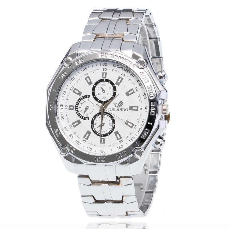 Hersteller Direkt Verkauf Orient Uhr oriando Legierung Stahl Gürtel Drei-Eyed Sechs-pin MÄNNER Uhr Europa Und Amerika heißer Verkauf