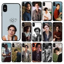 American TV Riverdale Jughead Jones TPU Silicone Black Phone Case for iPhone 11 pro XS MAX 8 7 6 6S Plus X 5 5S se 2020 XR case iyicao american tv greys anatomy soft silicone case for iphone 11 pro max xr x xs max 6 6s 7 8 plus 5 5s se phone case