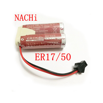 jiaxinda HOT NEW battery NACHI MZ07 MZ03 robot lithium battery 2 ER17/50 3.6V 5500mah Li-ion battery pack image