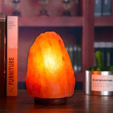 Salt Lamp Himalayan Salt Lamp Night Light Creative Brightness Personality Two Specifications Crystal Perfect Gift Bedroom