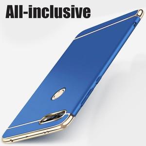 Image 3 - יוקרה ציפוי 3 ב 1 טלפון מקרה עבור Huawei Honor 30 20 10 9 8 לייט 8x 10i 20i מחשב קשה כיסוי לכבוד v10 v20 v30 פרו מקרה