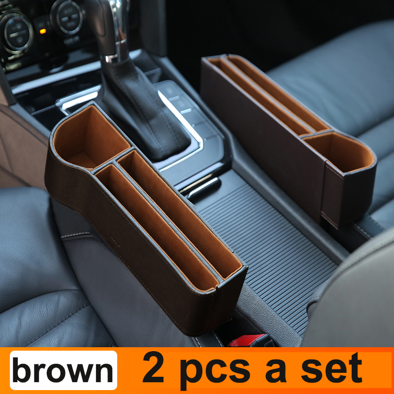 2Pcs Brown